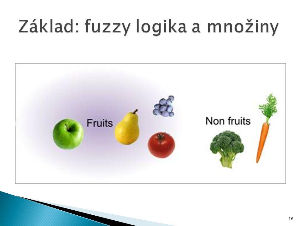 Základ: fuzzy logika a množiny