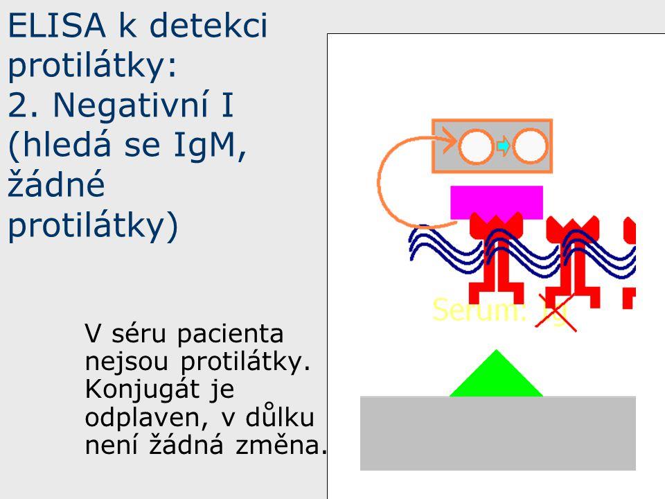 ELISA k detekci protilátky: 2