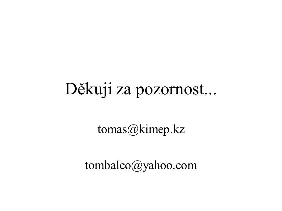 tomas@kimep.kz tombalco@yahoo.com