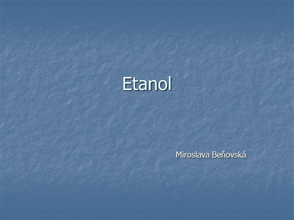 Etanol Miroslava Beňovská