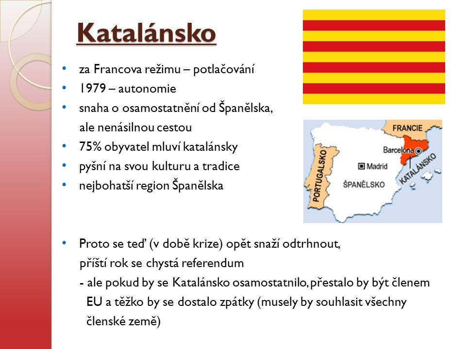 Katalánsko za Francova režimu – potlačování 1979 – autonomie