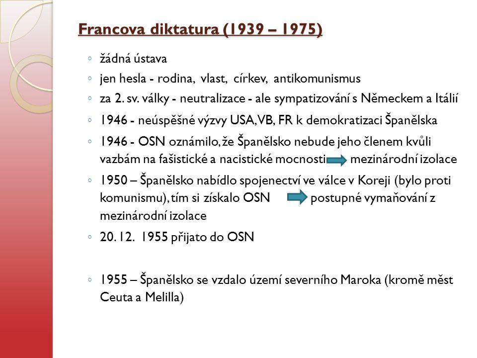 Francova diktatura (1939 – 1975)