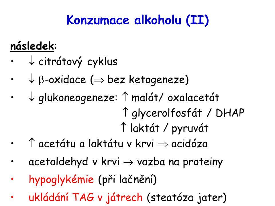 Konzumace alkoholu (II)