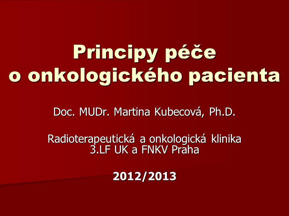 Principy péče o onkologického pacienta
