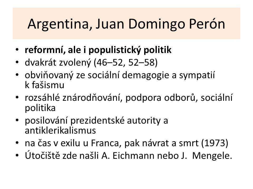 Argentina, Juan Domingo Perón
