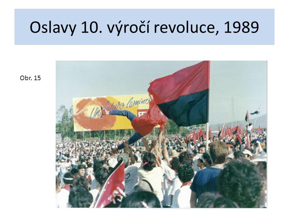 Oslavy 10. výročí revoluce, 1989