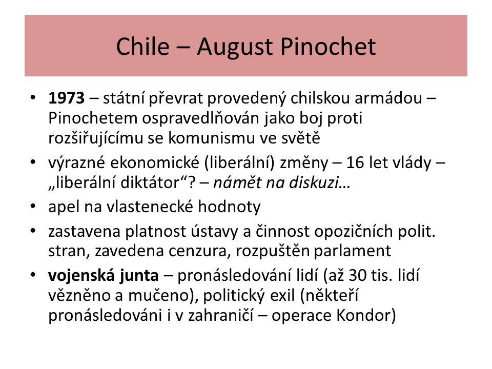 Chile – August Pinochet