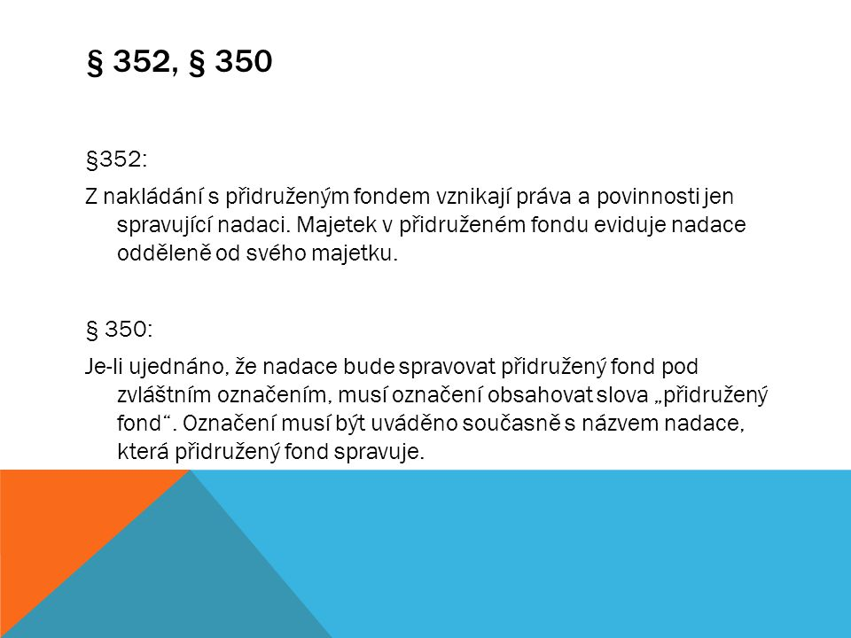 § 352, § 350