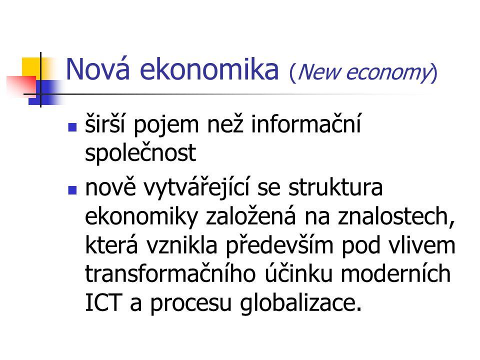 Nová ekonomika (New economy)