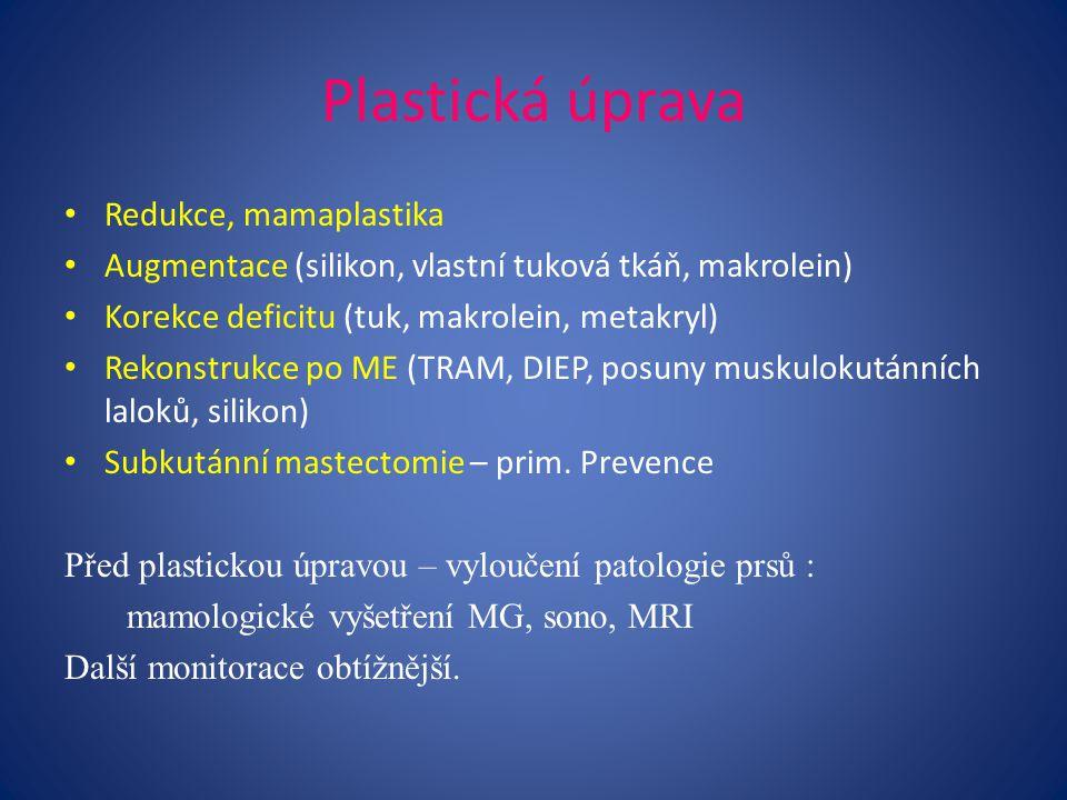 Plastická úprava Redukce, mamaplastika