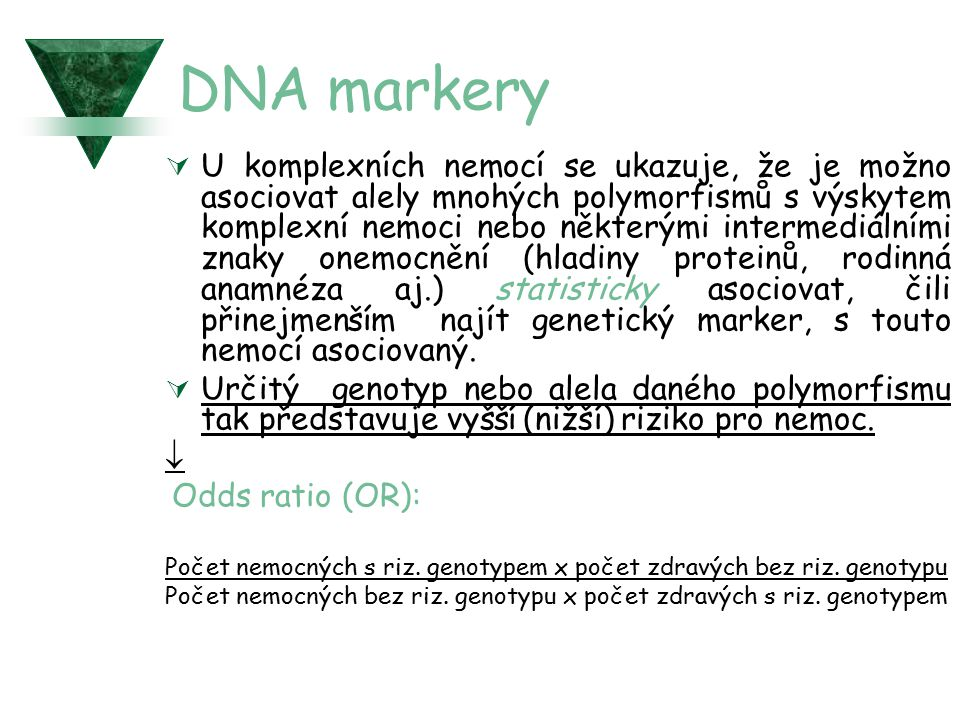 DNA markery
