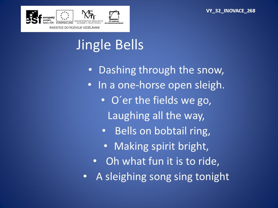 VY_32_INOVACE_268 Jingle Bells