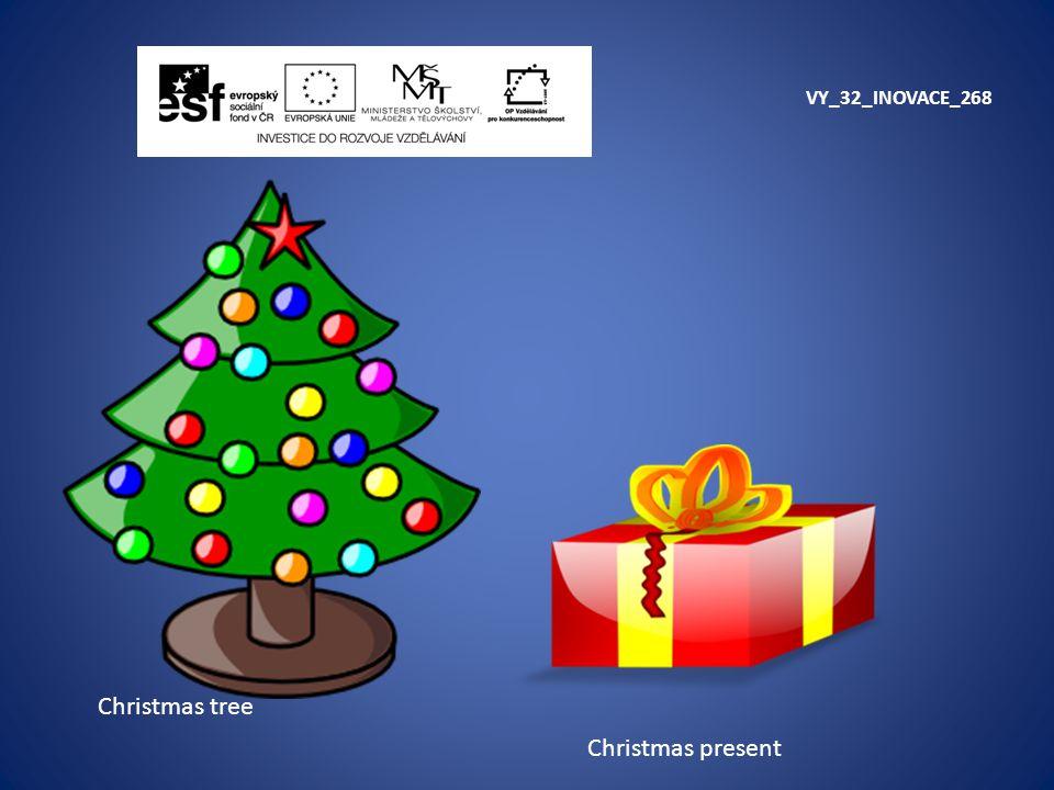 VY_32_INOVACE_268 Christmas tree Christmas present