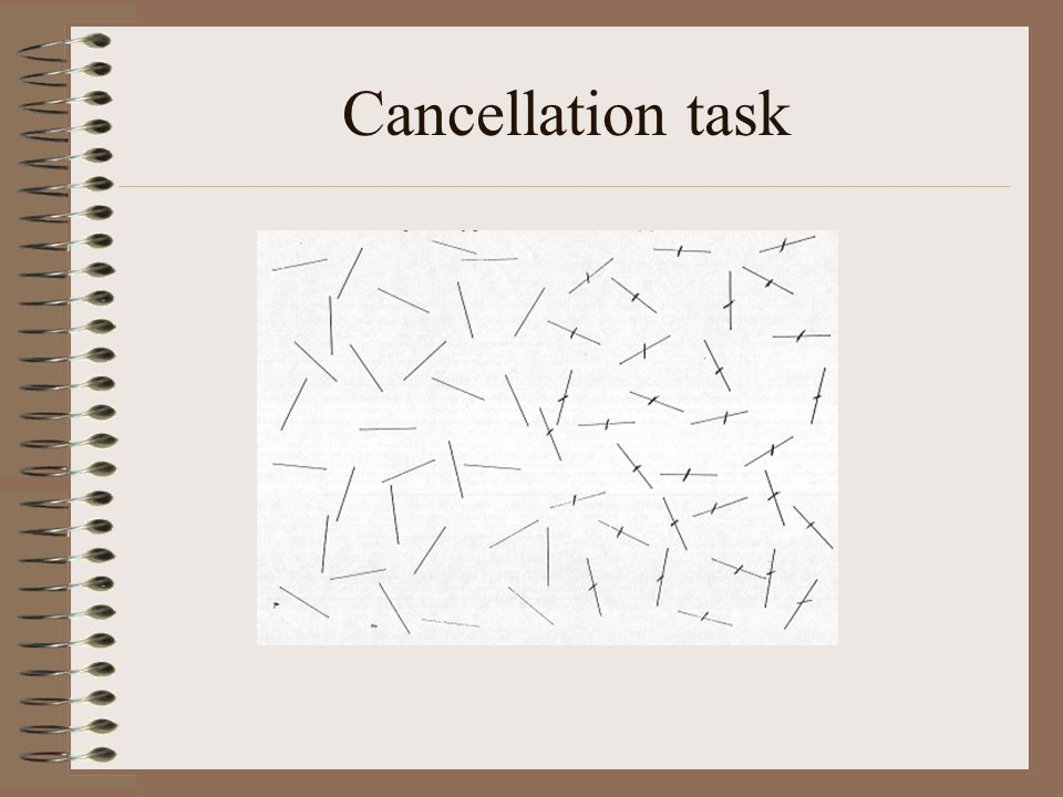 Cancellation task