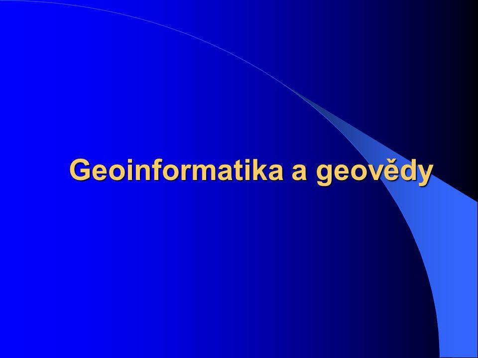 Geoinformatika a geovědy