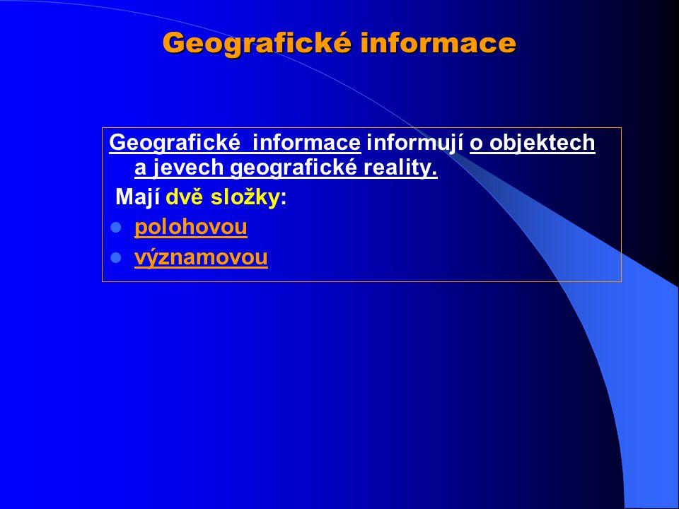 Geografické informace