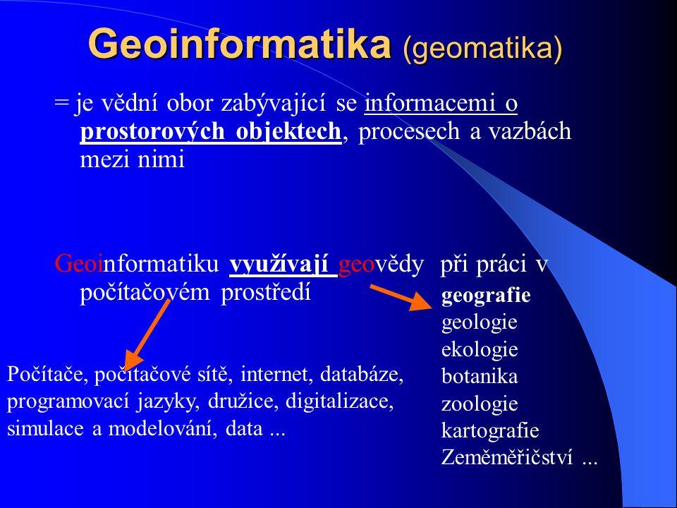 Geoinformatika (geomatika)