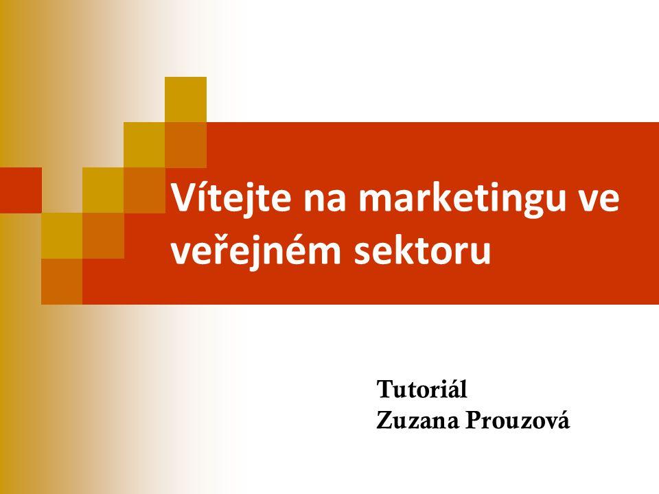 Vítejte na marketingu ve veřejném sektoru