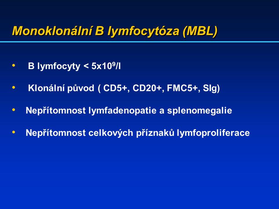 Monoklonální B lymfocytóza (MBL)