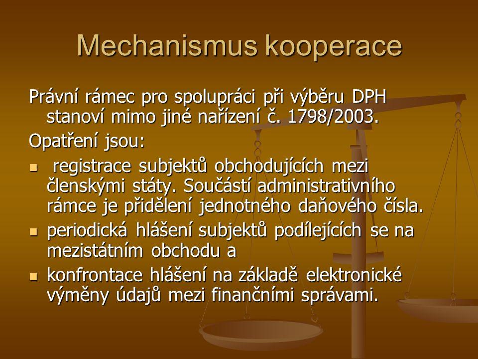 Mechanismus kooperace