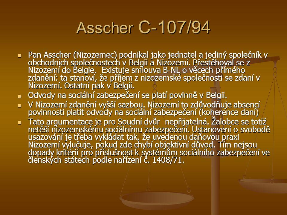 Asscher C-107/94