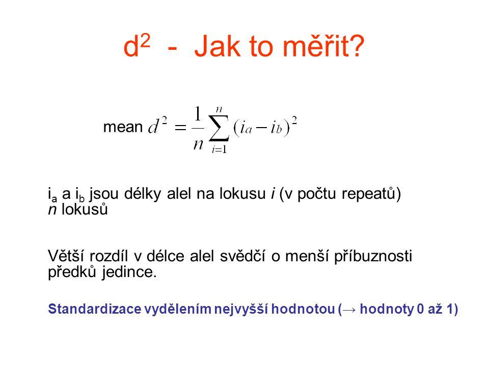 d2 - Jak to měřit mean.