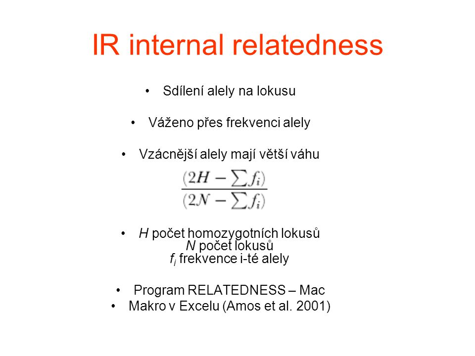 IR internal relatedness