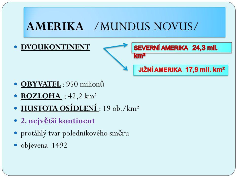 AMERIKA /MUNDUS NOVUS/