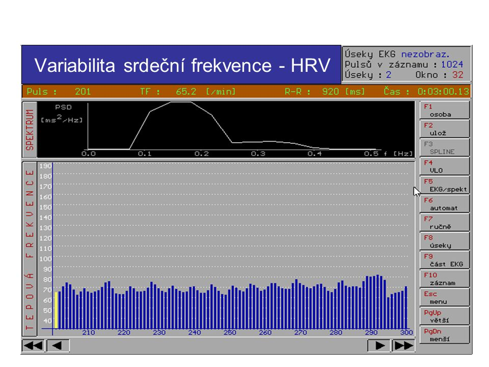 Variabilita srdeční frekvence - HRV