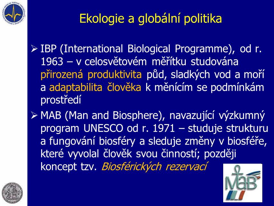 Ekologie a globální politika