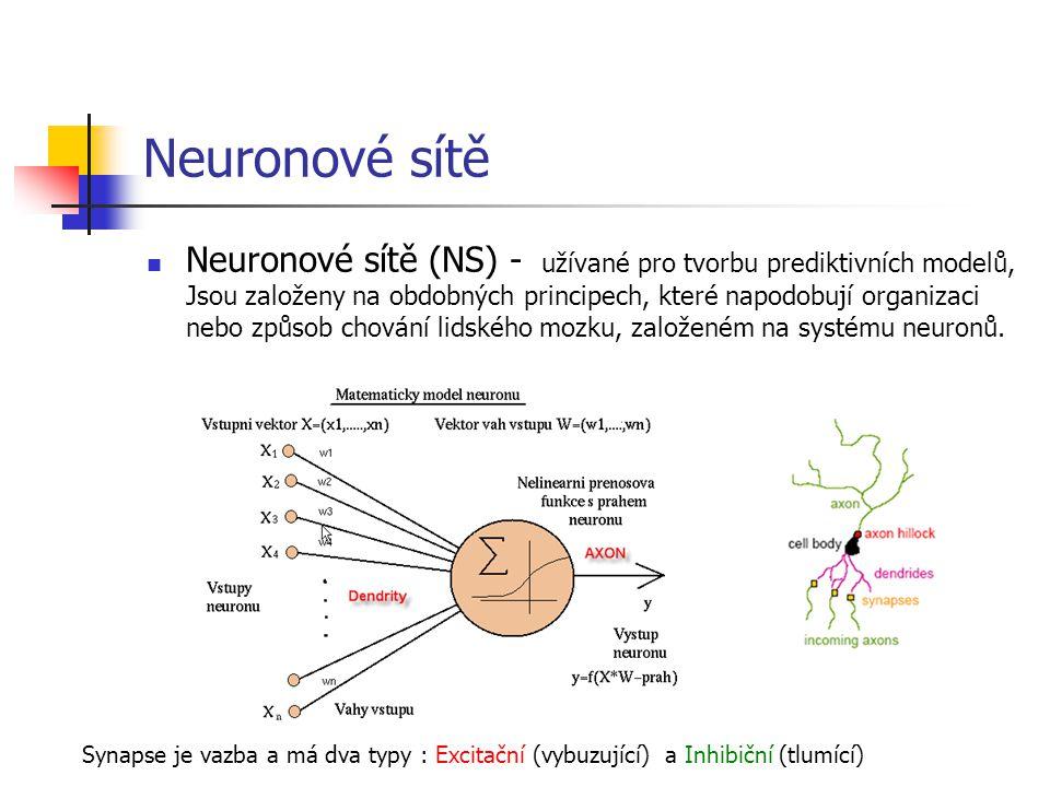 Neuronové sítě