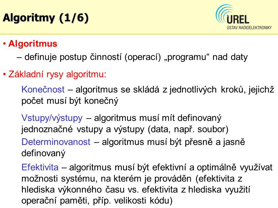 Algoritmy (1/6) Algoritmus