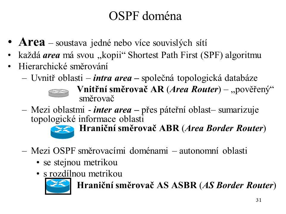 Area – soustava jedné nebo více souvislých sítí