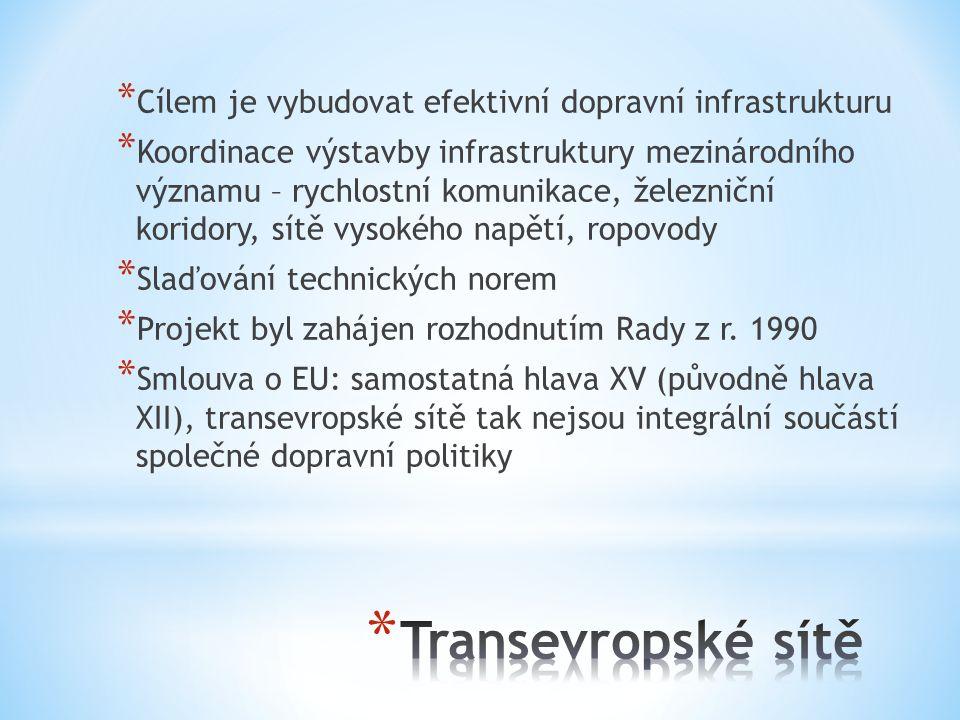 Cílem je vybudovat efektivní dopravní infrastrukturu