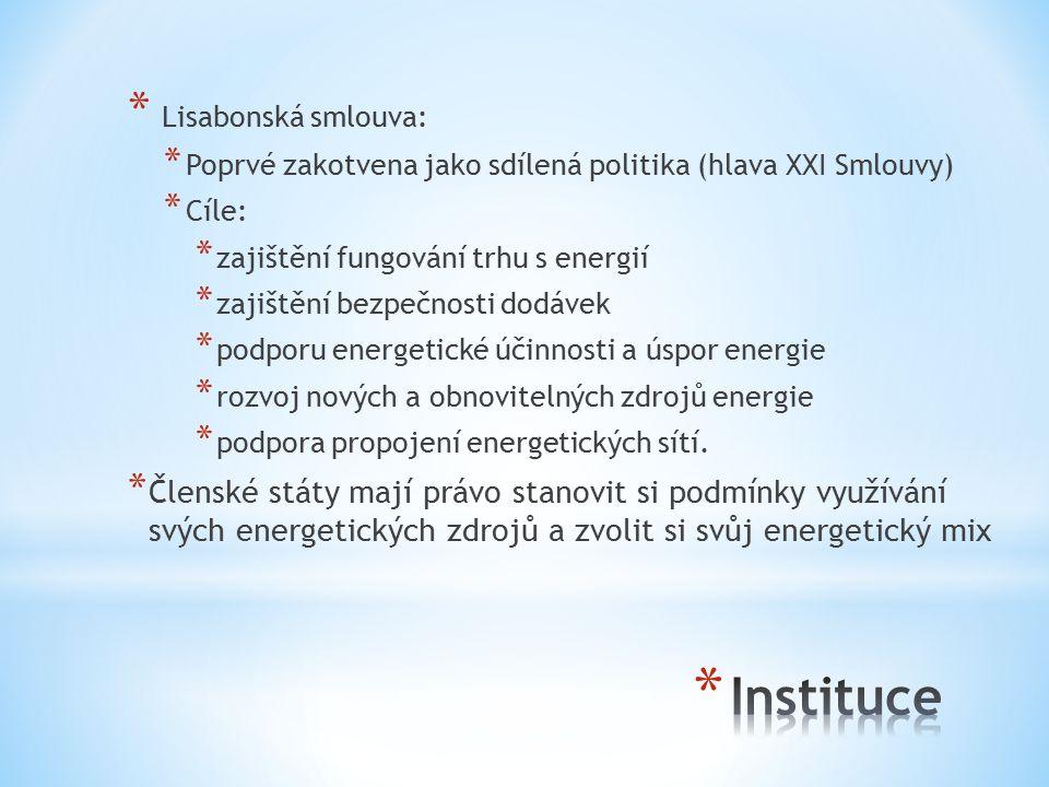 Instituce Lisabonská smlouva: