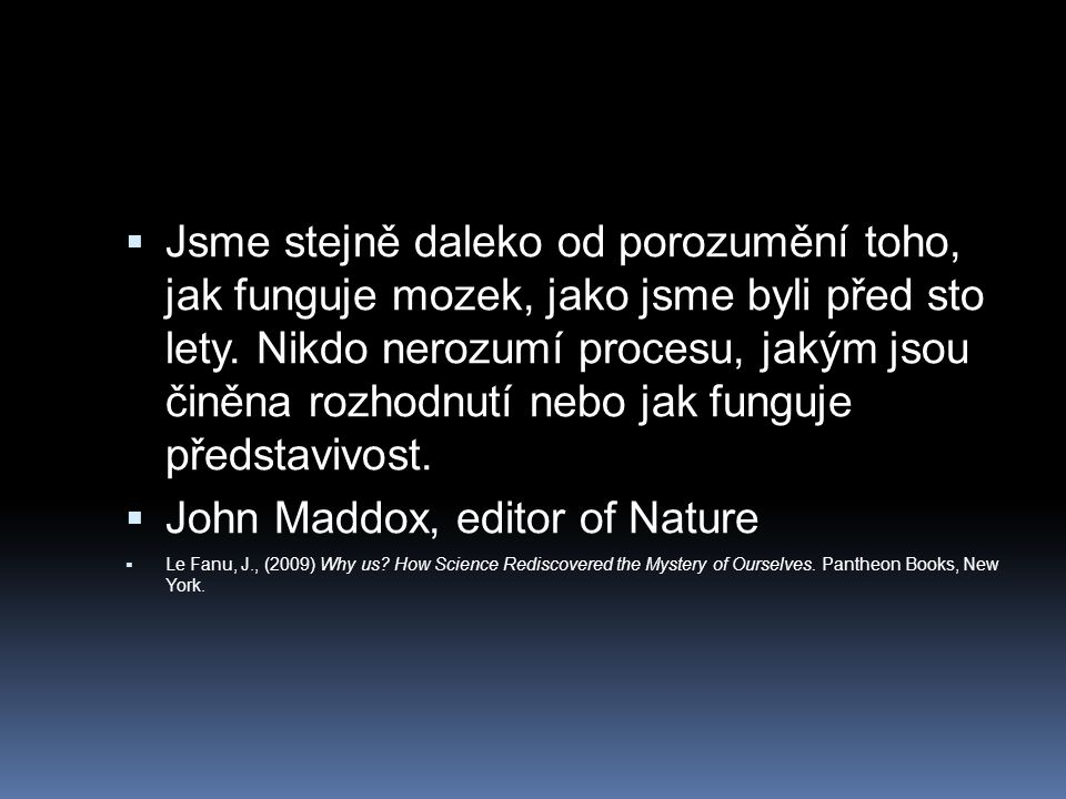 John Maddox, editor of Nature