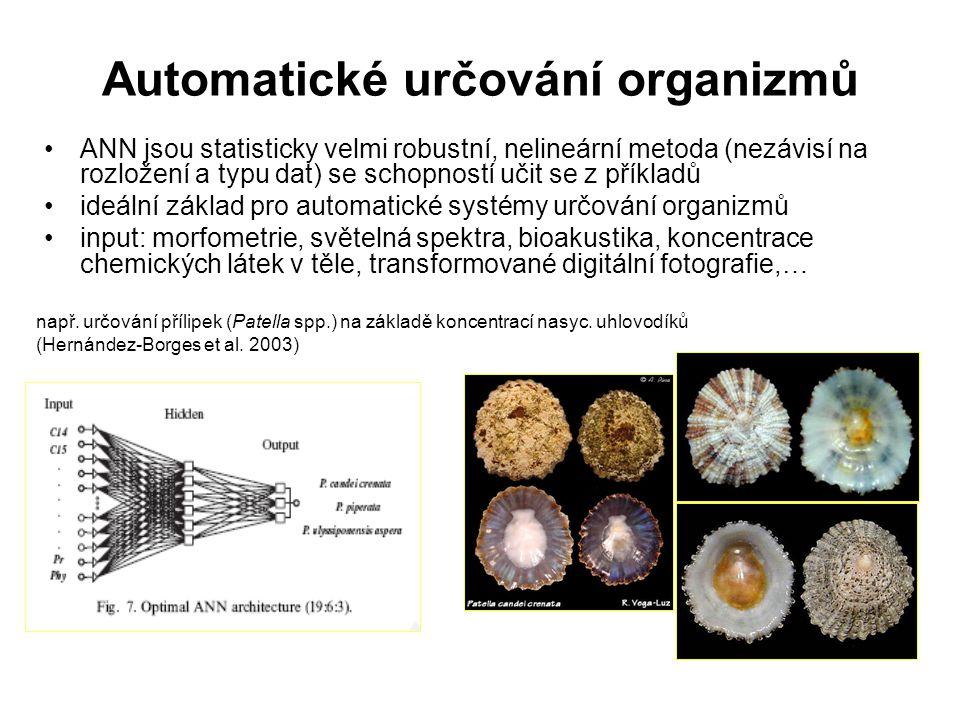 Automatické určování organizmů