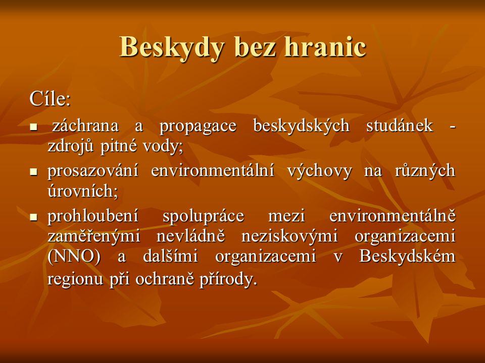 Beskydy bez hranic Cíle: