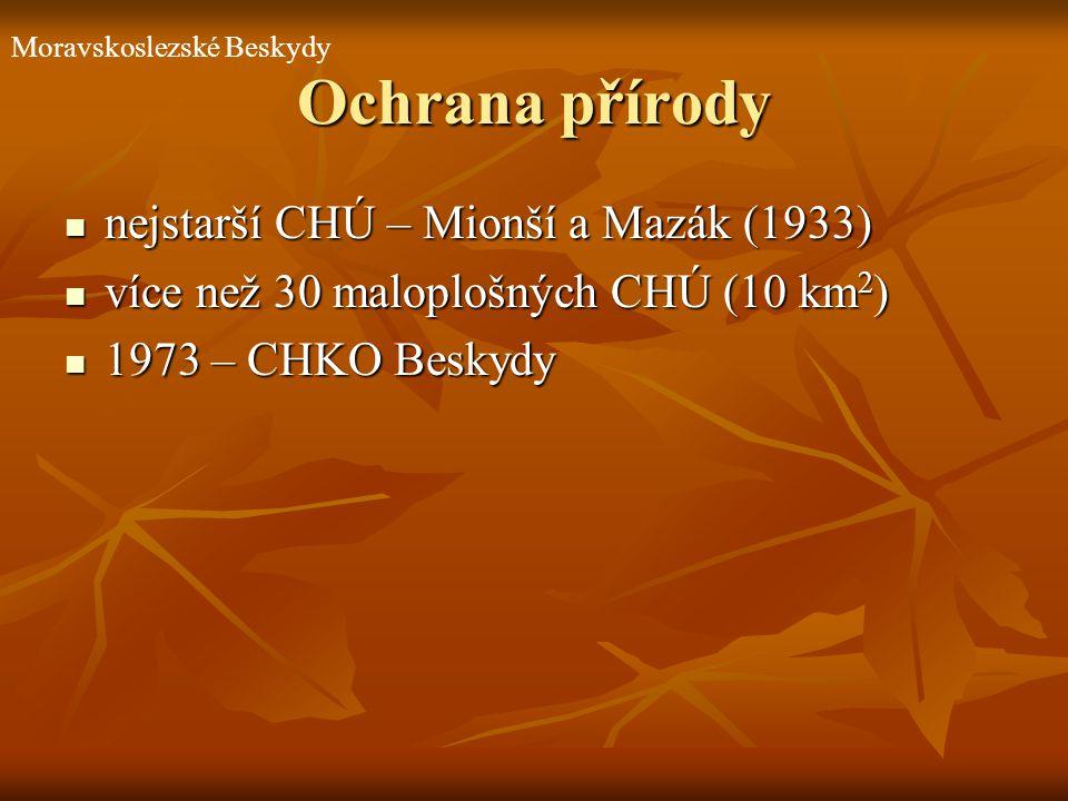 Ochrana přírody nejstarší CHÚ – Mionší a Mazák (1933)