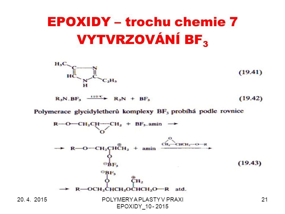 EPOXIDY – trochu chemie 7