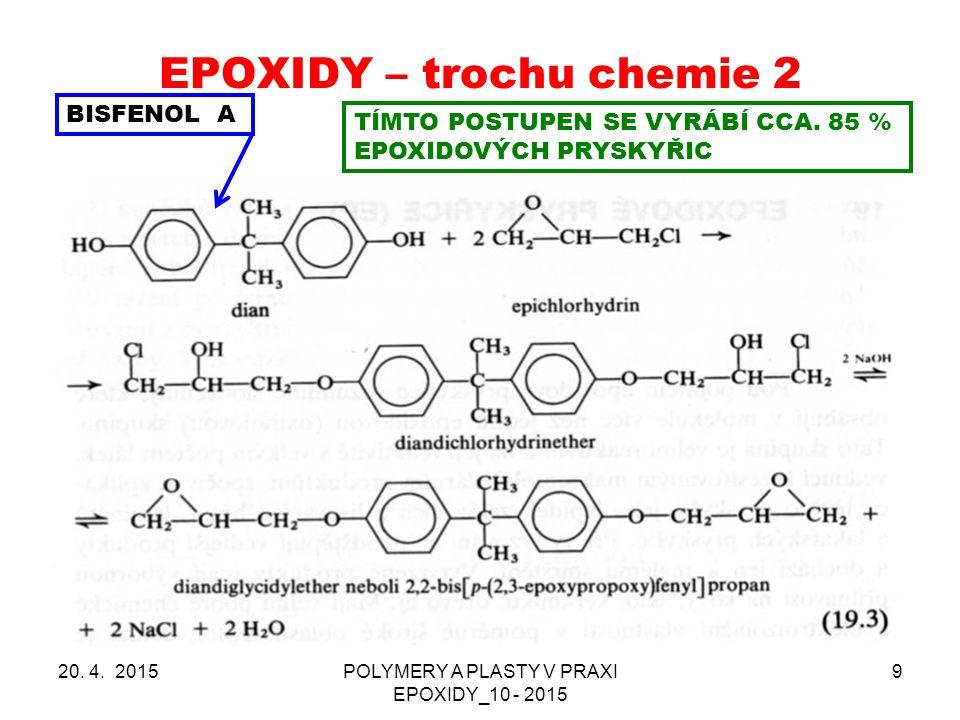 EPOXIDY – trochu chemie 2