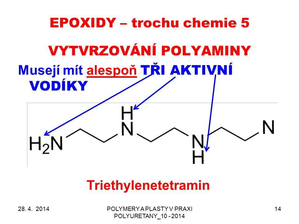 EPOXIDY – trochu chemie 5