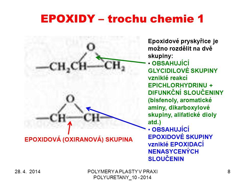 EPOXIDY – trochu chemie 1
