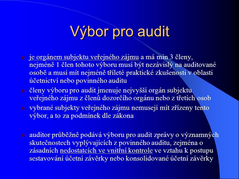 Výbor pro audit