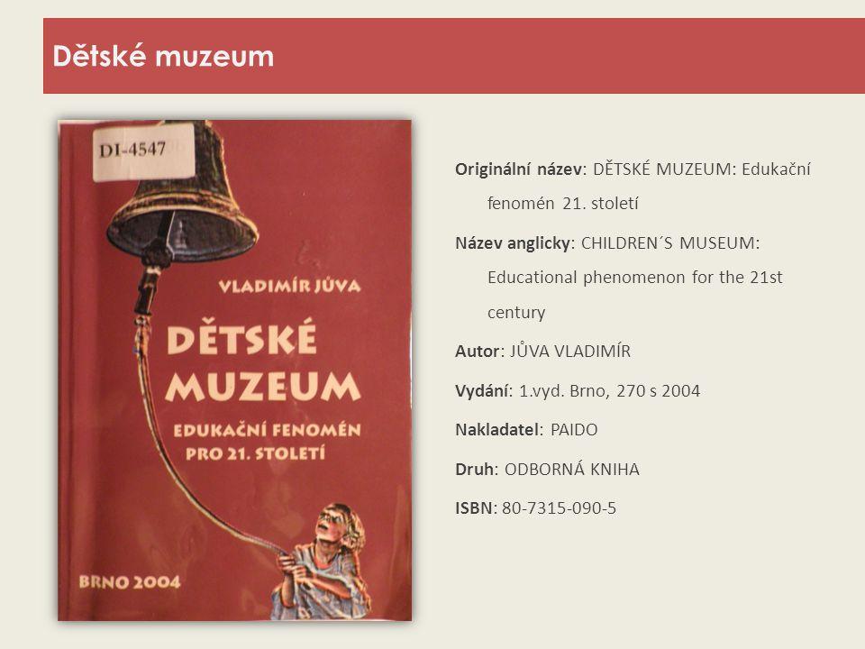 Dětské muzeum