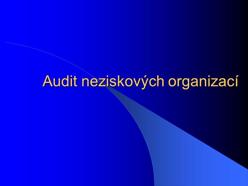 Audit neziskových organizací