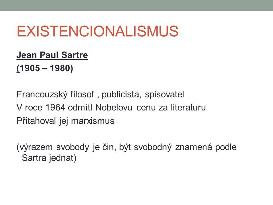 EXISTENCIONALISMUS