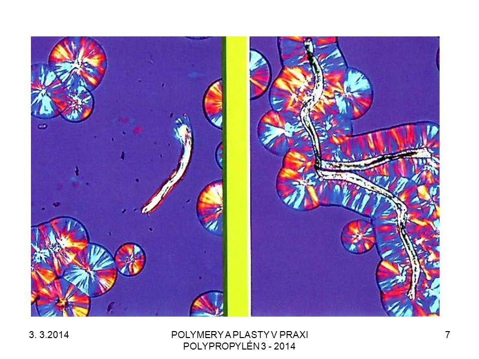 POLYMERY A PLASTY V PRAXI POLYPROPYLÉN 3 - 2014