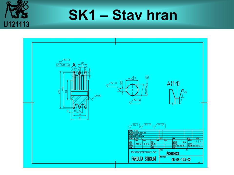 SK1 – Stav hran U121113