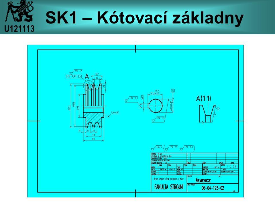 SK1 – Kótovací základny U121113